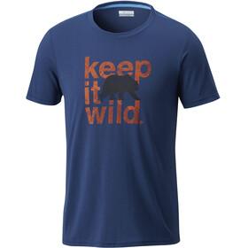Columbia Miller Valley - T-shirt manches courtes Homme - bleu